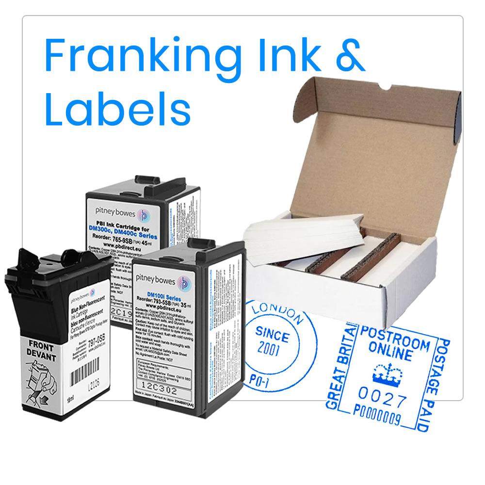 Franking Ink & Franking Labels