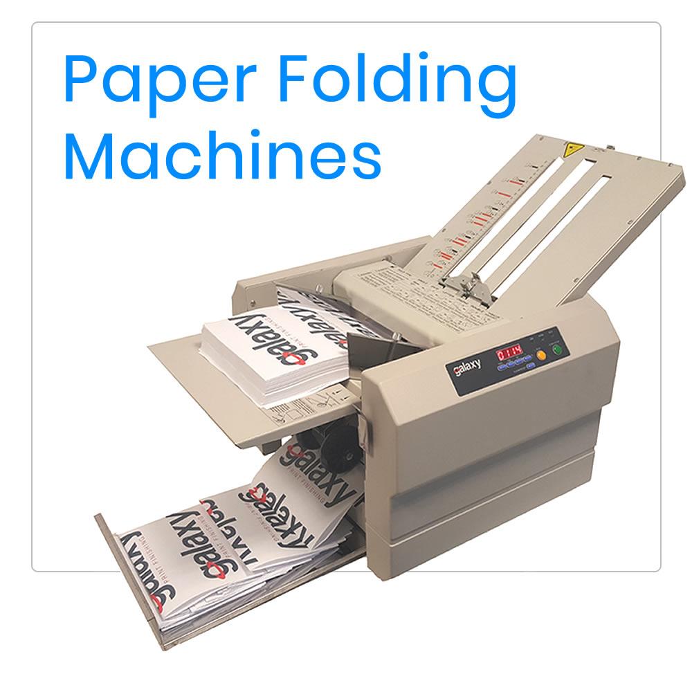 Paper Folding Machine & Sundries