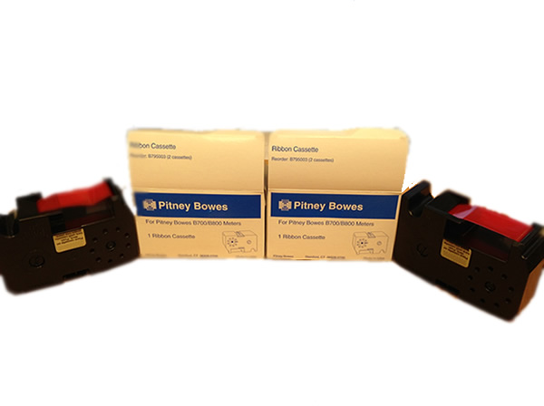 Red Original B700 Ink Ribbon x2 SPECIAL OFFER B795003