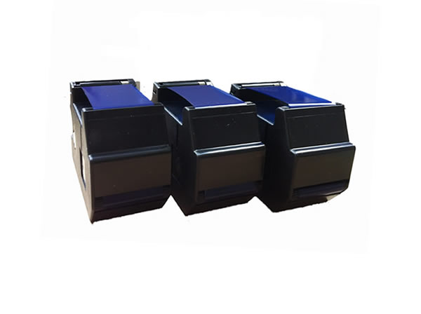 BLUE Francotyp T1000, Optimail compatible ink ribbons x3